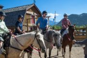 Your friendly guide will give you a brief riding instruction before your horseback ride