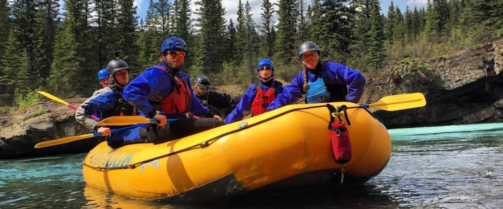 Guide School on the Kananaskis River with Chinook Rafting in the Canadian Rockies