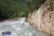 ide through Kicking Horse Canyon on the Kicking Horse Classic Whitewater Rafting Tour with Chinook Rafting in the Canadian Rockies