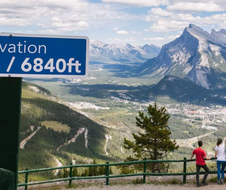 Sightsee over Banff from the Mount Norquay Banff Sightseeing Chairlift