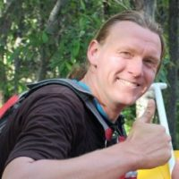 Richard the Raft Guide Senior Trip Leader at Chinook Rafting in the Canadian Rockies
