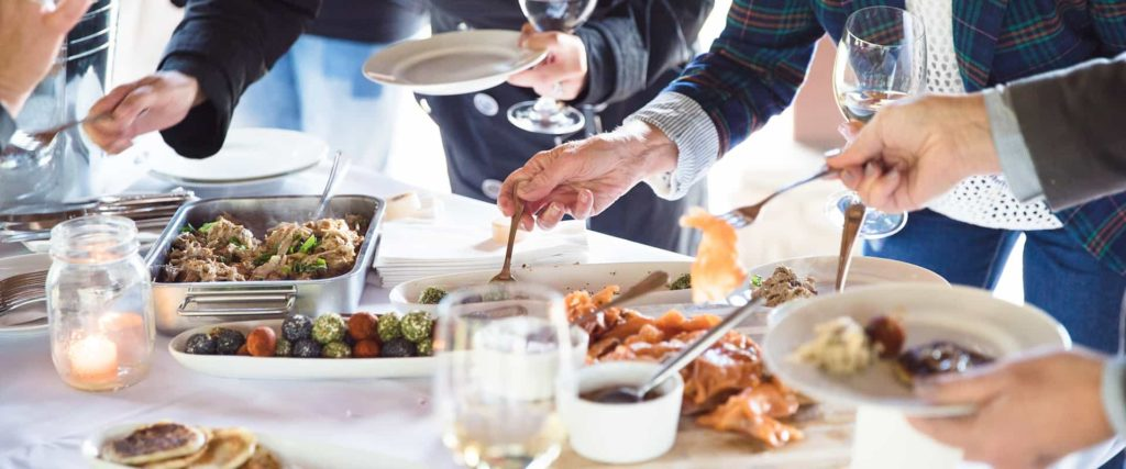 Private food and beverage options on a customised tour