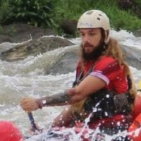 Trip Leader David for Chinook Rafting in Banff