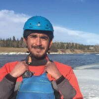 Lead Guide Gabriel for Chinook Rafting in Banff