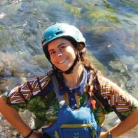 Raft Guide Paz for Chinook Rafting in Banff