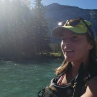 Raft Guide Sarah for Chinook Rafting in Banff