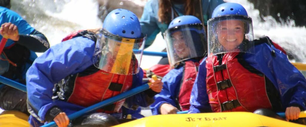 COVID safe rafting with Chinook Rafting
